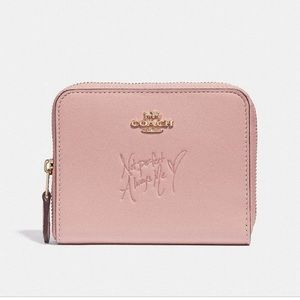 Coach Selena Gomez Zip Around Wallet - NWT